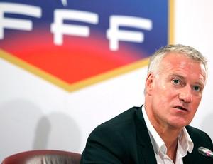 Didier Deschamps apresentado como novo técnico da França (Foto: AP)