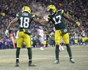 Com show de Aaron Rodgers, Packers batem os Giants e avançam na NFL