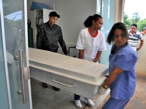 Índio ferido em confronto com a polícia morre em hospital, diz Funai (Foto: Marcos Tomé/ Região News)