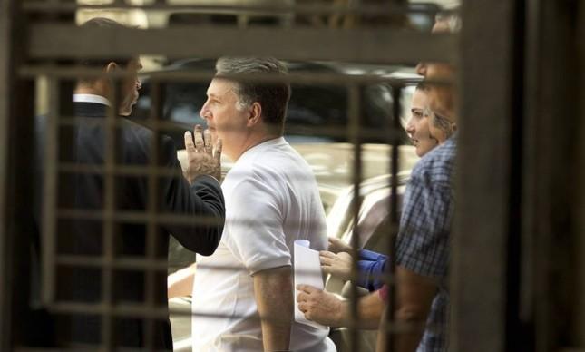 O ex-governador Anthony Garotinho, preso pela PF