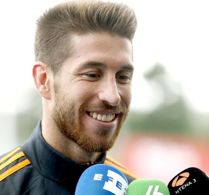 Sergio Ramos coletiva Real Madrid (Foto: EFE)