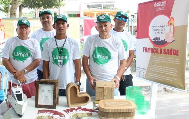 Parceiros de diversas instituições apoiaram a iniciativa (Foto: Katiúscia Monteiro/ Rede Amazônica)