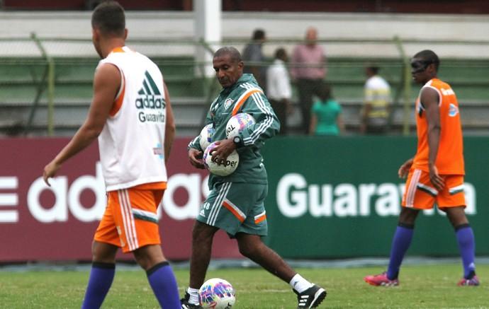 Cristóvão Borges, treino do Fluminense (Foto: Nelson Perez / Fluminense FC)