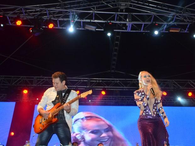 Banda Calypso foi a grande atração do São João de Campina Grande na noite de quarta (4) (Foto: Divulgação/CodecomCG)