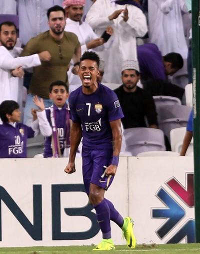 Caio Al Ain x El Jaish (Foto: AFP)