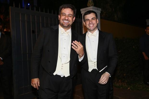 Bruno Astuto e Sandro Barros (Foto: Manuela Scarpa / Photo Rio News)