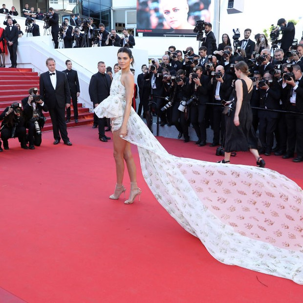 Kendall Jenner em Cannes (Foto: Getty Images)