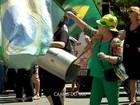 Grupos protestam em cidades do interior do RS durante posse de Lula