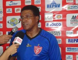 Samuel Cândido, técnico do Potiguar de Mossoró (Foto: Divulgação/Potiguar de Mossoró)