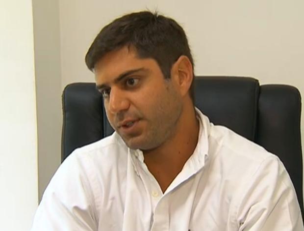 Márcio Tannure, diretor da Comissão Atlética Brasileira (Foto: Reprodução)