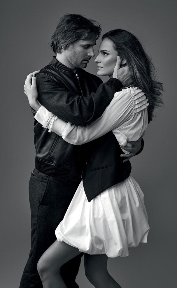 Fernanda Tavares e Murilo Rosa (Foto: Fabio Bartelt)