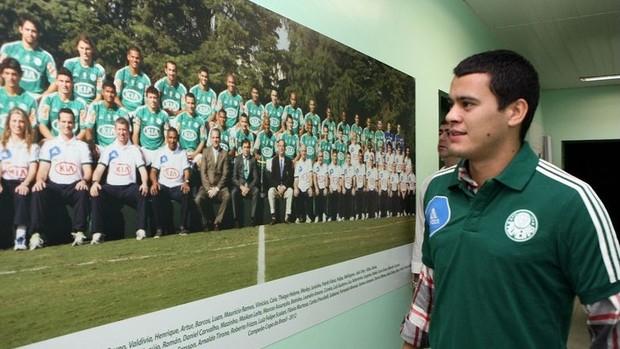 Mendieta Palmeiras (Foto: Fabio Menotti / Divulgação)