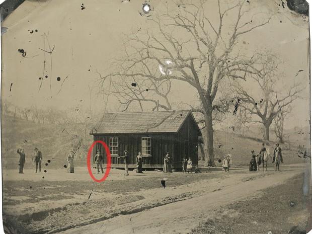 Destaque mostra o criminoso Billy the Kid na imagem (Foto: Reuters/www.kagins.com/Divulgação)