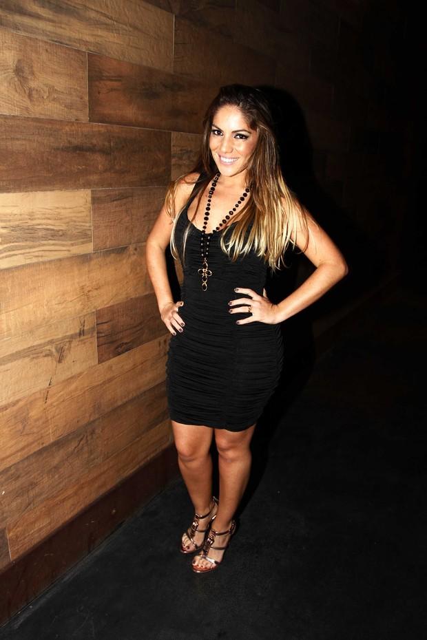Anamara no show do Cristiano Araujo no Villa Mix (Foto: Paduardo/AgNews)