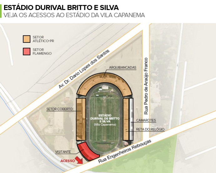 Info VILA CAPANEMA (Foto: Infoesporte)