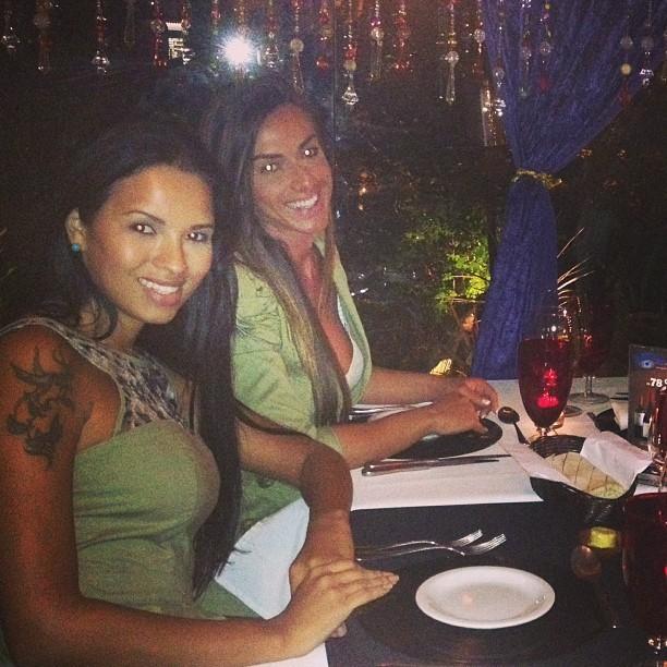 Ariadna e Nicole Bhals (Foto: reprodução/Instagram)