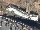 Acidente de ônibus deixa 14 mortos e 27 feridos no Japão