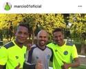 No Goiás, Márcio registra reencontro com velhos amigos de Atlético-GO