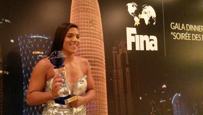 Ana Marcela Cunha é eleita a melhor do mundo em 2014 (Foto: Divulgação)