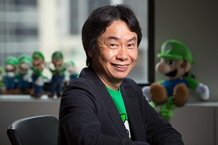 Miyamoto se firmou como uma das estrelas da indústria dos games (Foto: Reprodução)