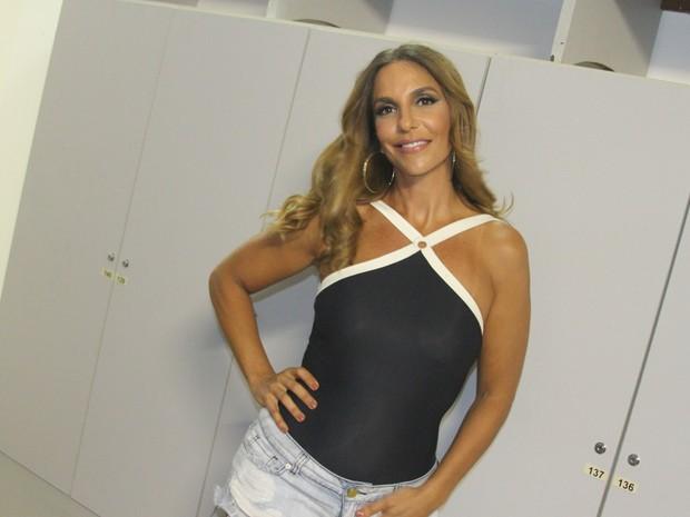 Ivete Sangalo em bastidores de show em Salvador, na Bahia (Foto: João Victor Castro/ Divulgação)
