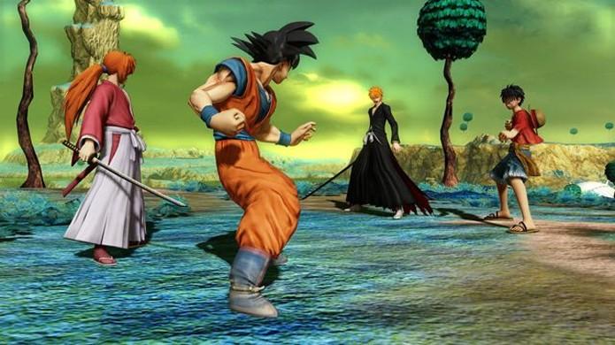 Goku une forças com Kenshin de Samurai X contra Luffy e Ichigo (Foto: Reprodução/Dual Shockers)