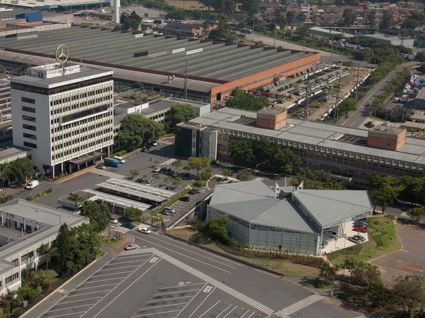 Fábrica da Mercedes-Benz em São Bernardo do Campo (SP) (Foto: Divulgação)
