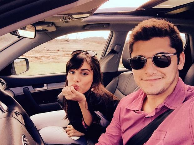 Carla Salle e Bruno Gissoni (Foto: Reprodução/Instagram)