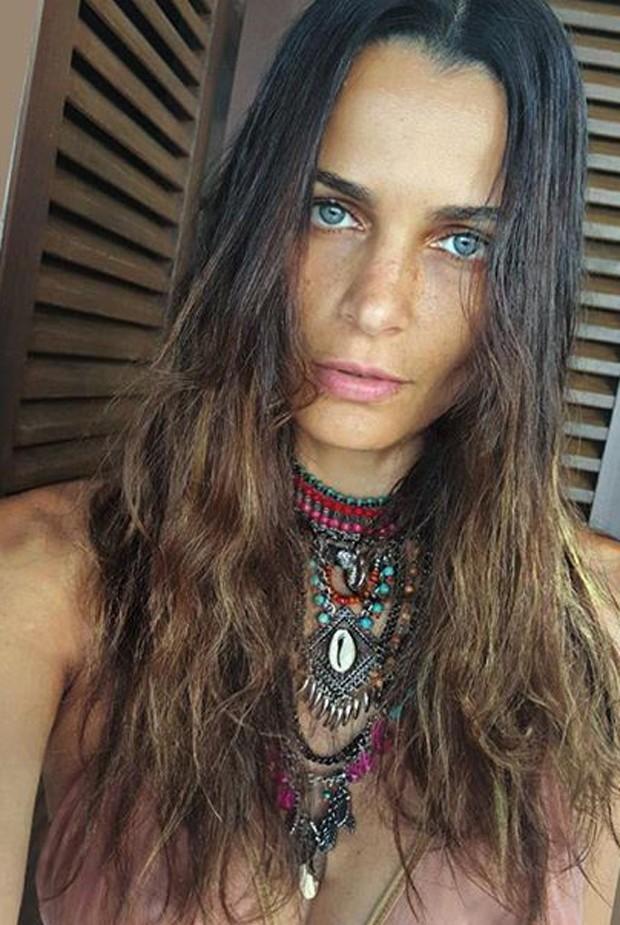 Fernanda Motta sem maquiagem (Foto: Reprodução)