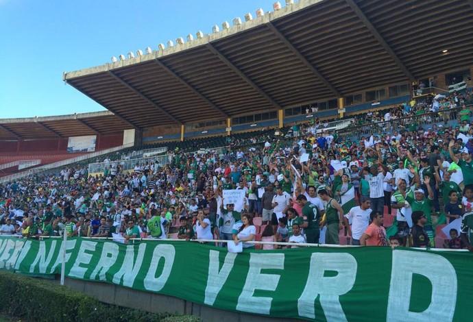 Uberlândia América TO Campeonato Mineiro Módulo 2 2015 (Foto: Hismênia Keller)