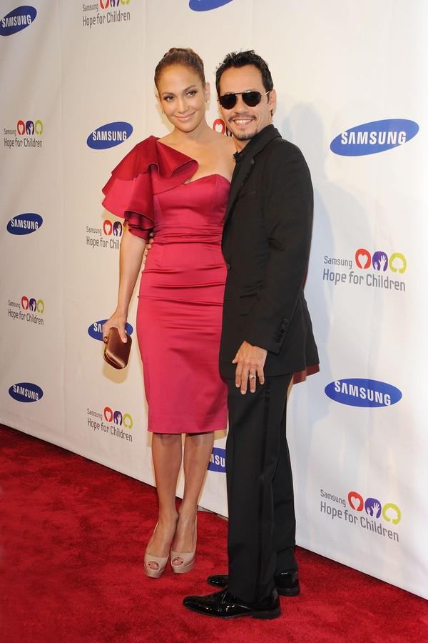 Jennifer Lopez e Marc Anthony foram casados por 10 anos (Foto: Getty Images)