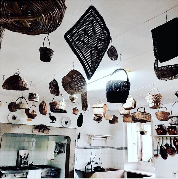 Uma foto do interior do palacete português comprado por Madonna (Foto: Instagram)