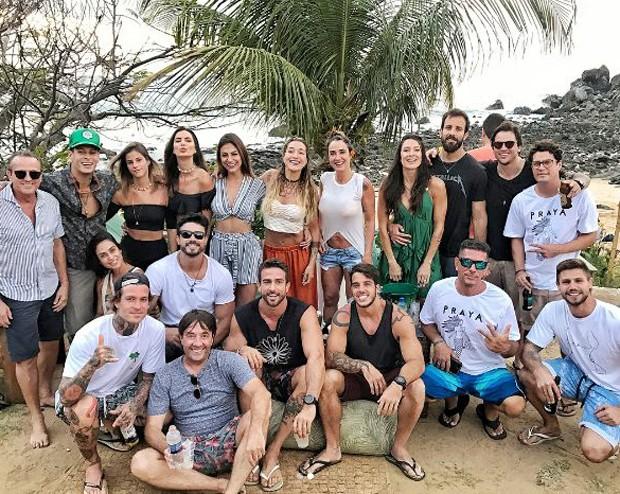 Aniversário de Gabriela Pugliesi em Fernando de Noronha (Foto: Reprodução/Instagram)