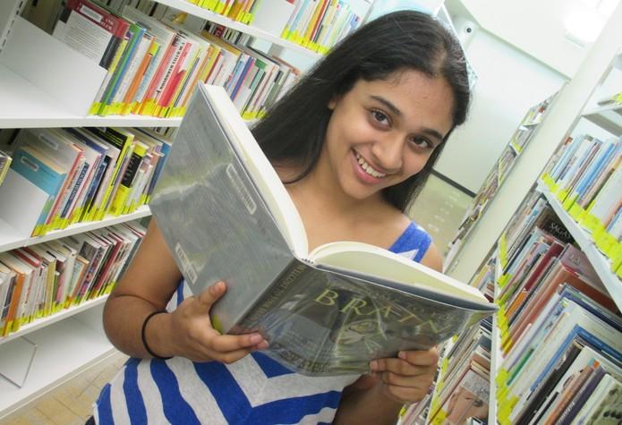 Jovem americana de 13 anos, Trisha Prabhu, criou projeto que combate o bullying virtual (Foto: Arquivo pessoal/Trisha Prabhu)