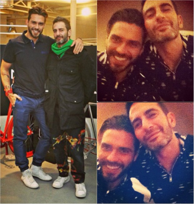 Lorenzo Martone e Marc Jacobs são ex-namorados, mas mantém a amizade de melhores amigos (Foto: Reprodução do Instagram)