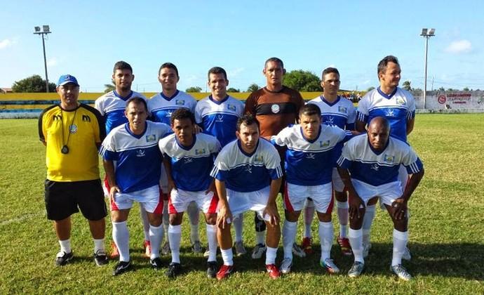 Time do Lucena que vai disputar a 2ª Divisão do Campeonato Paraibano (Foto: Ascom/ Lucena)