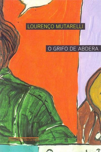 Capa do livro 'O Grifo de Abdera', de Lourenço Mutarelli