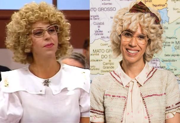 Stella Freitas e Maria Clara Gueiros: Cândida (Foto: Reprodução e Divulgação)