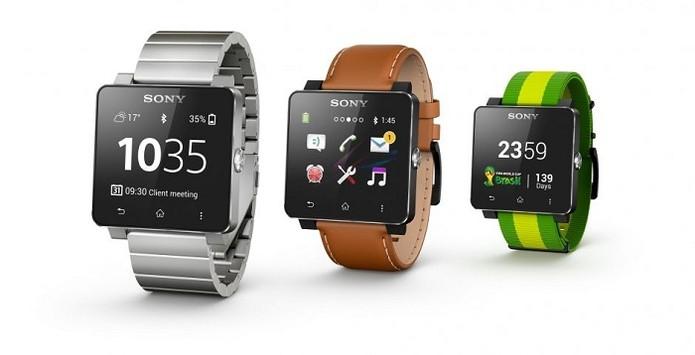 Relógio inteligente da Sony é compatível com celulares Android 4.0 ou superior (Foto: Divulgação)