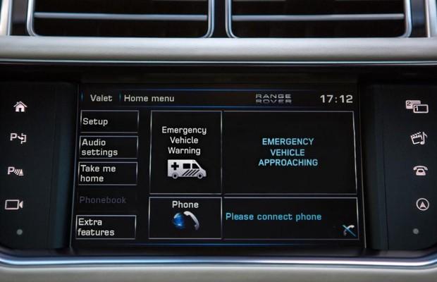 Sistema avisa quando veículo de emergência está se aproximando (Foto: Divulgação)
