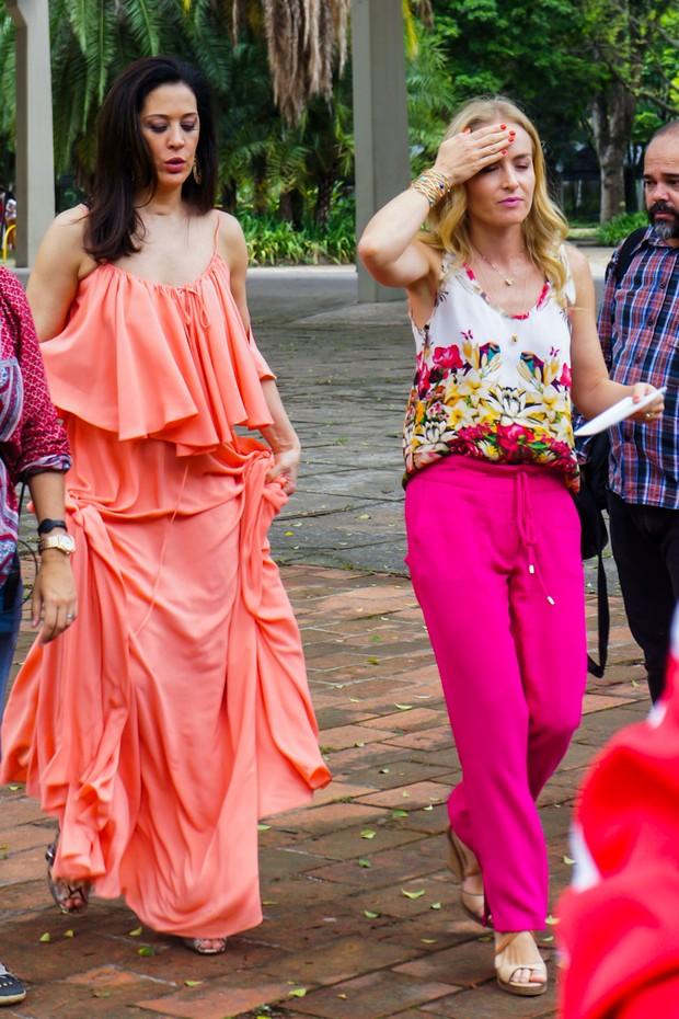 Angelica e Claudia Raia (Foto: Clayton Felizardo/ Photo Rio News)