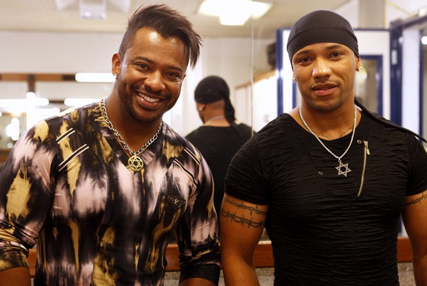 Angelo e Ângel audição (Foto: Pedro Curi/TV Globo)