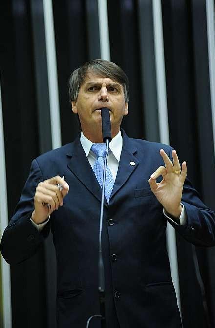 O deputado Jair Bolsonaro (PP-RJ) (Foto: Lucio Bernardo Jr./Câmara dos Deputados)