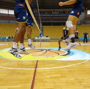 Equipe masculina de vôlei de Uberlândia (Foto: Divulgação/Academia do Vôlei)