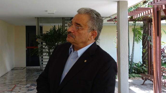 Mauro Carmélio, FCF (Foto: Juscelino Filho)