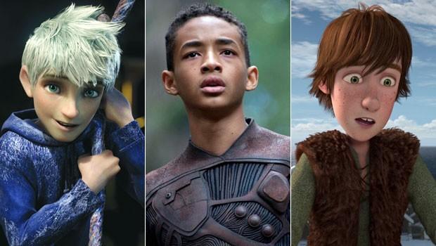 Globo exibe os filmes 'A Origem dos Guardiões', 'Depois da Terra' e 'Dragões: O Presente do Fúria da Noite' (Foto: Divulgação)