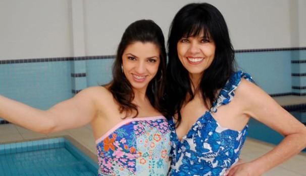 Cluster Sisters Gabriela e mãe (Foto: Arquivo pessoal)