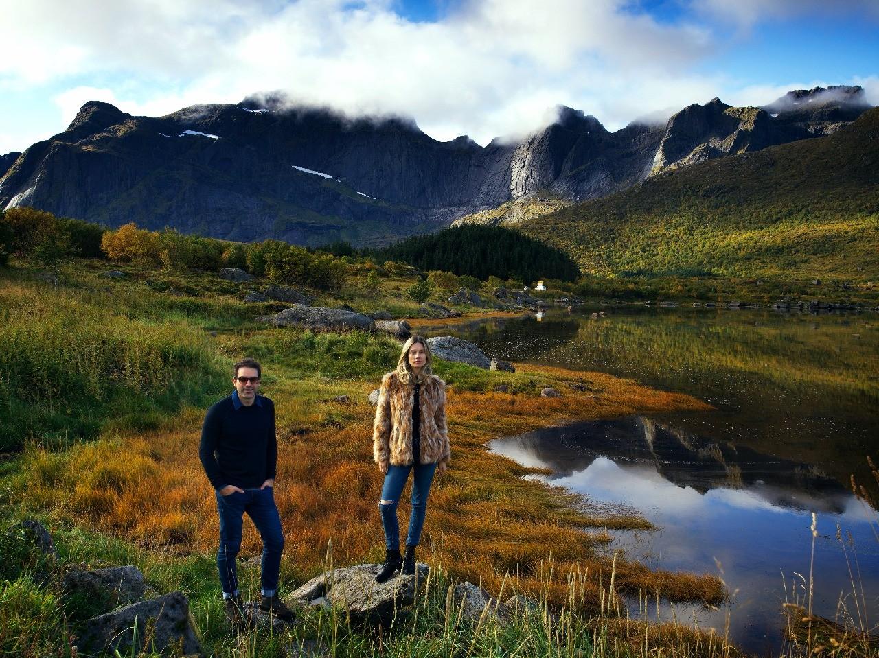 Outro cenário deslumbrante na Noruega (Foto: Gustavo Zylbersztajn)