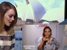 Emma Stone chora ao receber recado de Mel B das Spice Girls