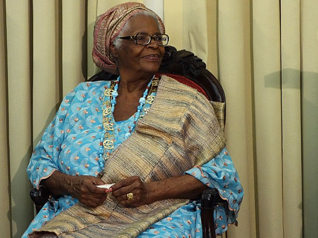 Mãe Stella (Foto: Egi Santana/G1)